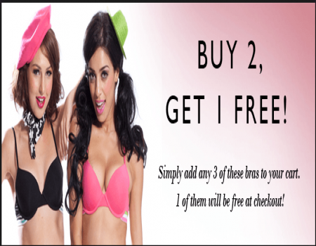 Clovia Coupons & Offers - Buy any 3 Bras for Rs. 599 - May 2018