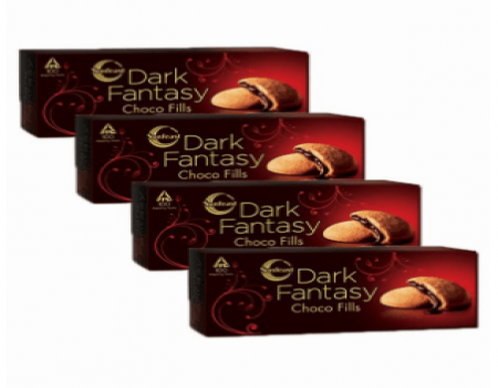 Buy Dark Fantasy Choco Fills (Pack of 4) at Rs 68 Only