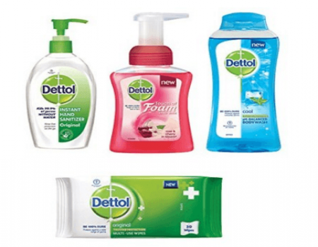 Buy Dettol Tulsi Hand wash Refill and Pump 200ml+175ml, Pack of 2 (co-Created with Moms) @ Rs 250 from Amazon