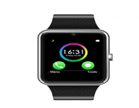 Buy Digital Silver Dial Unisex Smart Watch with Sim Card Slot and Camera  at Rs 2,659 Only
