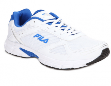 Buy Fila White Running Shoes from Snapdeal at Rs 1,899 Only