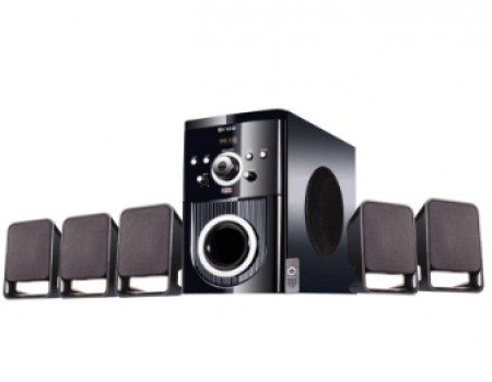 Buy Flow Buzz 5.1 Speaker System for Small Rooms at Rs 1,916 Only