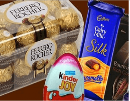 Buy Chocolates & Get Flat 20% OFF on First Orders above Rs 1000 From BigBasket