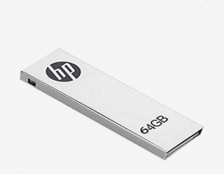 Buy HP 64 GB Pen Drive (Silver) At Rs 900  From Tata Cliq