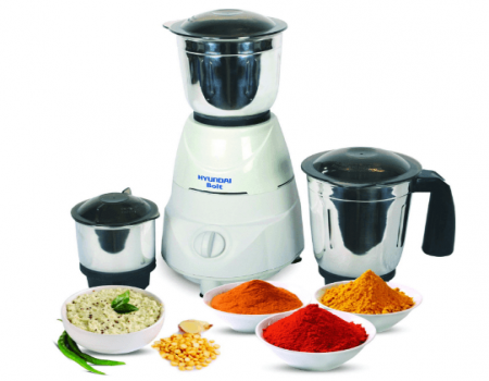Buy Hyundai HMB50W3S-DBF Mixer Grinder (White) color for Rs 1,549 Only from amazon