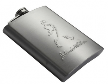 Buy Johnnie Walker Stainless Steel Hip Flask 230ml @ Rs 229 Only