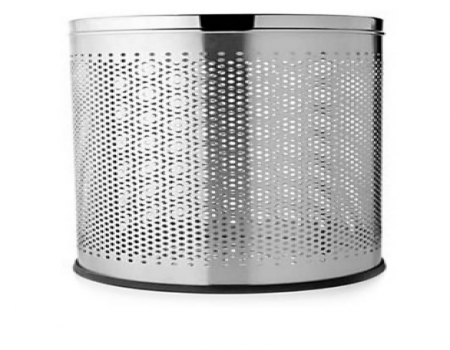 Buy KC Steel Dustbin Round Perforated at Rs 230 Only
