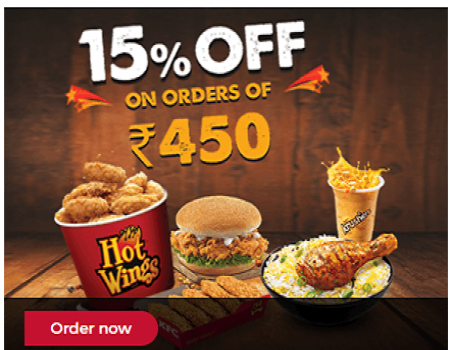 KFC Wednesday Offer | 10 Pcs Hot & Crispy Rs 400 | Chicken Fried Roll Rs 99
