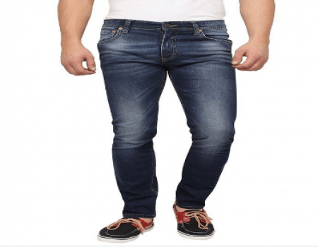 Buy Levi's Blue Slim Fit Faded Jeans at Rs 999 Only
