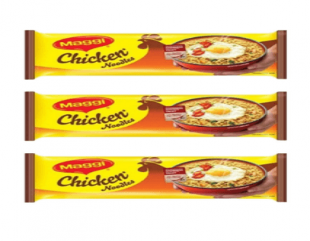 Buy MAGGI Chicken Noodles 284gm (Pack of 3) At Rs 99 Only