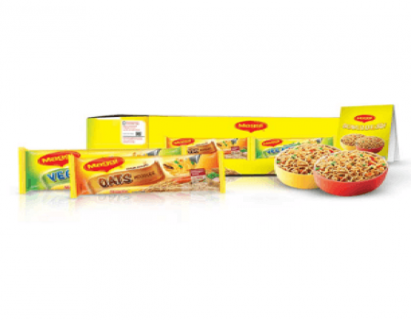 Buy MAGGI Veg Atta & Oats Noodles Welcome Kit at Rs 158 Only