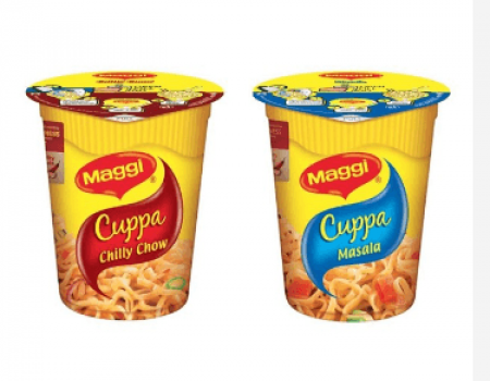 Buy Maggi Cuppa Masala + Chilly Chow + Free Rs 150 discount on Uber Ride At Rs 65 Only