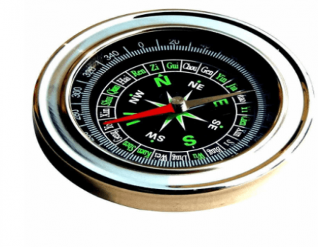 Buy Magnetic Steel Compass Cum Paper Weight from Snapdeal at Rs 1 Only