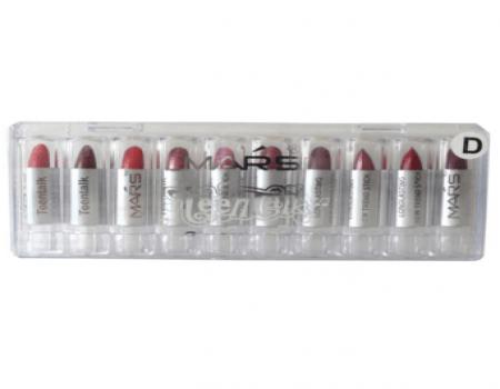 Buy Mars Mini Lipstick Drop Lip Color D Set Of 10 at Rs 179 Only