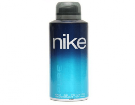 Buy Nike Deo Pure Men for Men- Blue 200ml @ Rs 186 Only