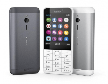 Buy Nokia 230 (Dark Silver) at Rs 3,857 Only