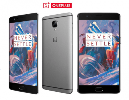 Buy OnePlus 3 Graphite (6GB RAM, 64GB Internal) At Rs 27,999 Only From Amazon