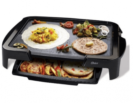 Buy Oster 5770 1500-Watt Electric Griddle with Warming Tray at Rs 2,799 Only