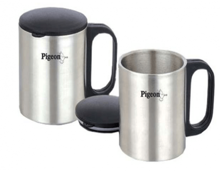 Snapdeal - Bring Pigeon Double Coffee Cup At Rs 256 Only
