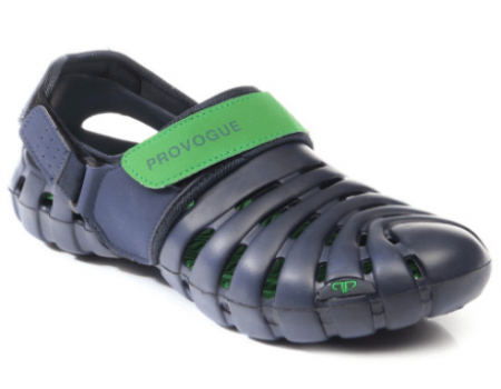 Buy Provogue PV1061 Blue/Green Clog Shoes at Rs 323 Only