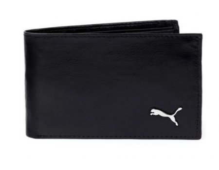 Buy Puma Black Leather Wallet @ Rs 385 Only With MRP Rs.1,299