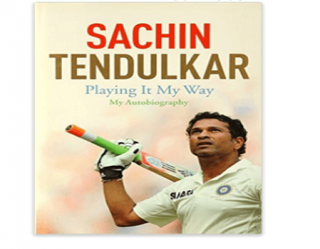 Playing it My Way Autobiography of Sachin Tendulkar at Rs 268 Only