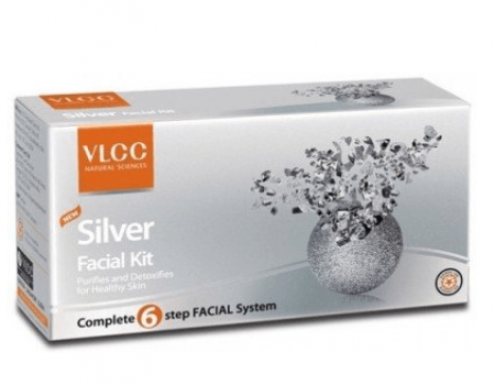 Buy VLCC Single Silver Facial Kit at Rs 188 Only