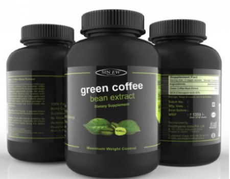 Buy Sinew Nutrition Green Coffee Exact 700 mg Weight Managment And Appetite Supplement At Rs 499 Only