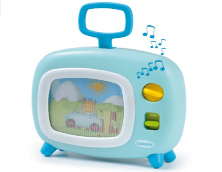Buy Smoby Cotoons Musical Tv, Multi Color At Rs 499 Only