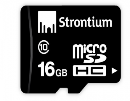 Buy Strontium 16GB MicroSD Memory Card (Class 10) at Rs 249 Only