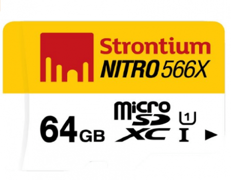 Buy Strontium Nitro 32GB 70MB/s Class 10 microsdhc Memory card at Rs 575 from Amazon