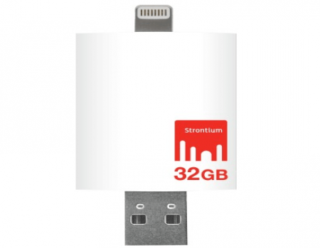 Buy Strontium Nitro iDrive 3.0 OTG Pendrive for iOS 32 GB Utility Pendrive At Rs 3,699 Only