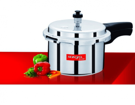 Buy Surya Accent 3 Ltr Aluminium Pressure Cooker at Rs 399 Only