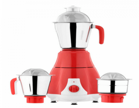 Surya Accent Red Chilli Mixer Grinder In Red & White at Rs 1000 Only