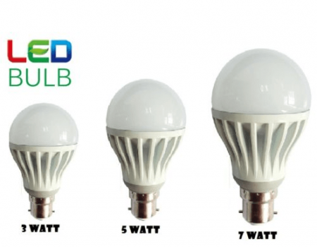 Buy Set of 3 ULTRA BRIGHT LED BULB B22 At Rs 165 from Shopclues