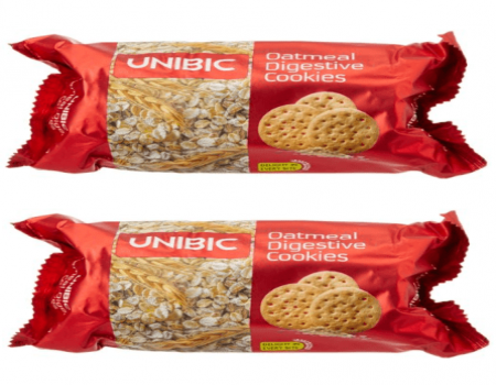 Buy Unibic Oatmeal Digestive, 150g (Buy 1 Get 1 Free) At Rs 40 Only