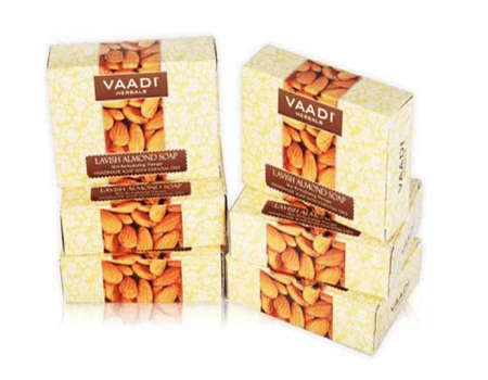 Buy Vaadi Herbals Lavish Almond Soap 75gm Pack of 6 At Rs 140 Only