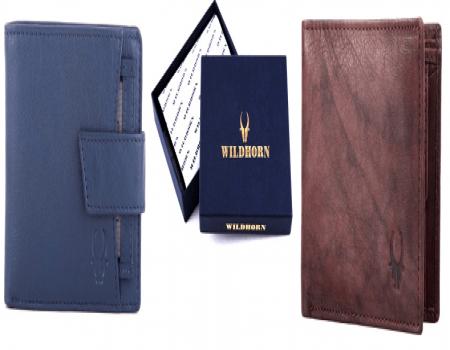 Get Upto 90% Off On WildHorn Men's and Women's Wallets From Flipkart