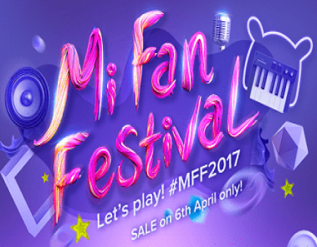 Xiaomi Mi Fan Festival Rs 1 Sale: Buy Mi Products @ Re 1 On 6th April 2017 at 10AM & 2PM