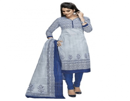 Buy Yuvanika Cotton Printed Salwar Suit Dupatta Material at Rs 579 Only