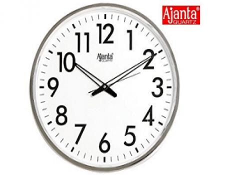 Buy Ajanta Simple Clock (Black, 907) at Rs 190 from Amazon