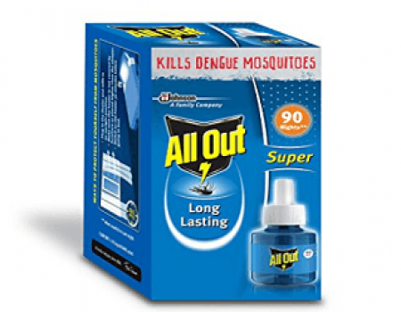 Buy All Out 720 Hours Refill (45 ml, Clear) at Rs 94 from Amazon