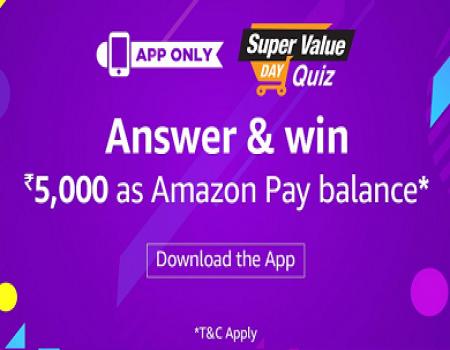 Amazon Red Pay Quiz Contest Today's Answers Win Rs 1000 Amazon Pay Balance