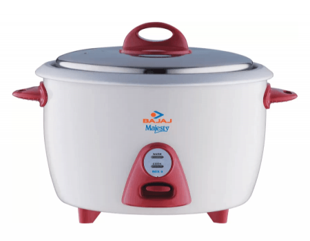 Bajaj Majesty New RCX 3 Electric Rice Cooker at Rs 1,025 from Flipkart