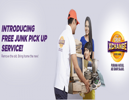 Big Bazaar The Great Exchange Offer 2017-  100% Off on Junk 18th Feb Till 16th April
