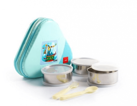 Buy Cello Eat-N-Eat 3 Container Lunch Packs, Green from amazon at Rs 338 Only