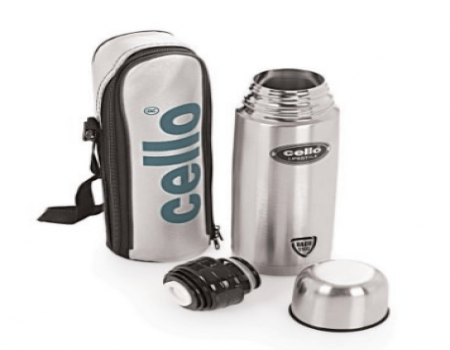 Buy Cello Lifestyle Stainless Steel Flask, 500ml from Amazon at Rs 409 Only