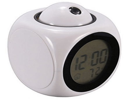 Buy DFS's original Digital LCD Projector Alarm Clock from Amazon at Rs 504 Only