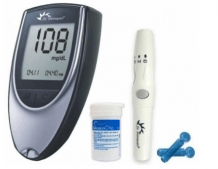 Buy Dr Morepen Limited Glucose Monitor With 25 strip at Rs 607 from Snapdeal