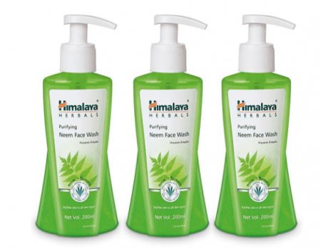 Buy Himalaya Herbals Purifying Neem Face Wash, 200ml, Pack of 3 At Rs 357 Amazon